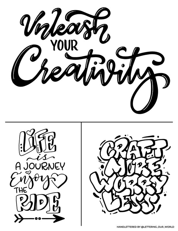 Craft More Worry Less