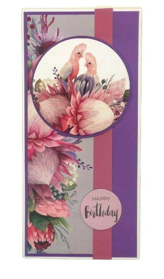 Happy Birthday DL Card
