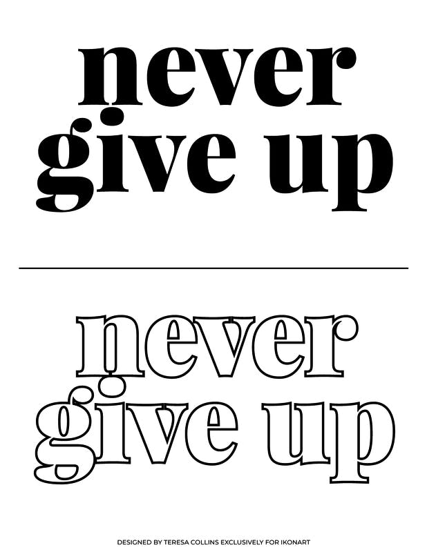TC Never give up