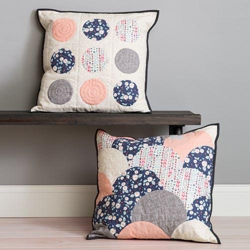 Circle Cut Pillows